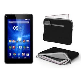 Tablet Multilaser7 Supra Quad Core Android 4.4 Camera + Capa