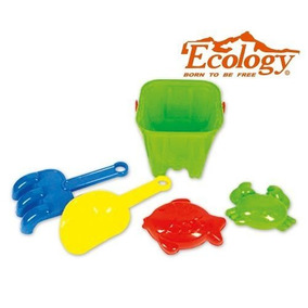 Set Juguete Playero 5 Piezas Ecology