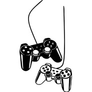 Adesivo De Parede - Gamer Controles Kit Com 2