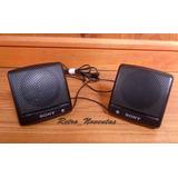 Antiguos Mini Parlantes Sony Para Walkman Personal Stereo
