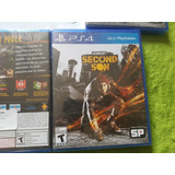 Infamous Second Sond Para Ps4, Disco Fisico. Nuevo Sellado