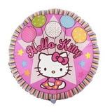 Hello Kitty Globo Redondo Fuccia