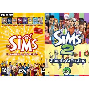 [pc] Los Sims 1 + 2 (con Todas Las Expansiones) - Físico