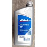 Aceite Lubricante Acdelco 10w30 Por Caja Mineral Gasolina