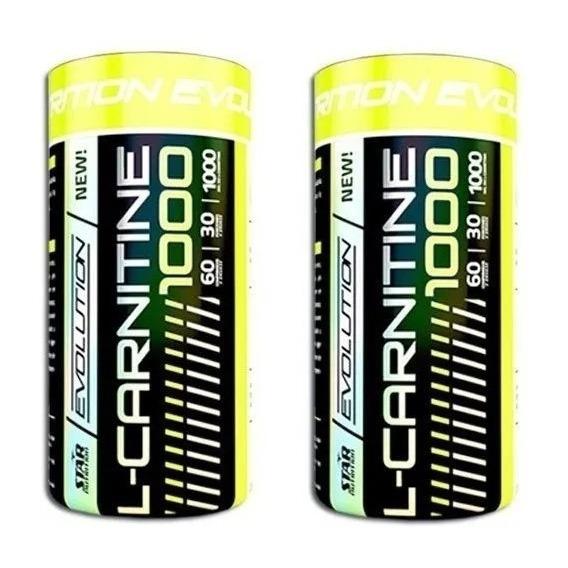 L Carnitina 1000 X 120 Tabs Star Nutrition Quemador De Grasa