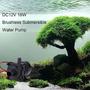 Dc12v 18w 600l/h Agua Sumergible Sin Cepillo Mini Bomba