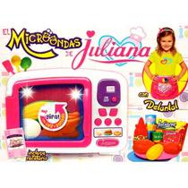 Microondas Juliana Con Delantal, Luz Y Sonido. Barbazul!!!