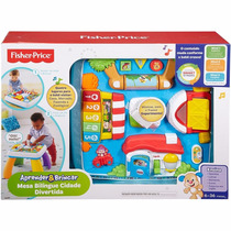 Mesa Bilíngue Cidade Divertida Fisher Price Black Frid Drh45