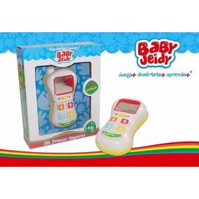 Celular Para Bebes Luces Y Sonidos Electronicos Baby Jeidy