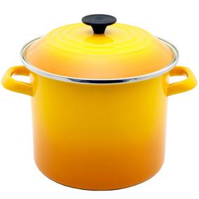 Caldeirão Esmaltado Stock Pot Le Creuset Amarelo Dijon 22 Cm