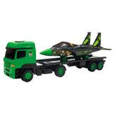 Caminhão Carreta Com Avião Ben 10 Multibrink 1000810