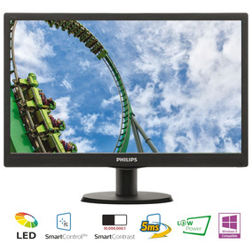 Monitor Led 22 Philips 223v5lsb2/77 Negro