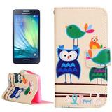 Estuche Telefono Para Galaxy Funda Cuero Diseño Dibujo A5