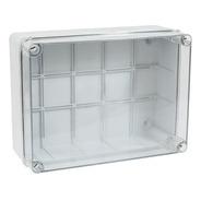 Caja De Paso Estanca Tapa Transparente Welt Ip56 24x19x10cm