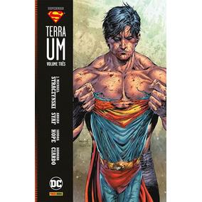 Superman Terra Um - Volume Três Panini. (lacrado)
