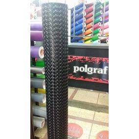 Vinilo 3d Negro Moldeable (ancho 1.52mt) Polgraf