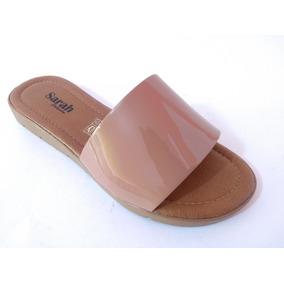 Sandália Sarah Calçados Nude Verniz 040 12 Pares