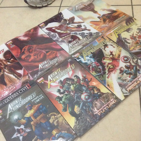 Lote - 8 Hqs Avante, Vingadores! - Marvel
