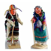 Pareja De Viejitos Danza De Los Viejitos Michoacan