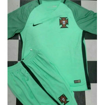 Uniforme Fútbol Portugal Visitante