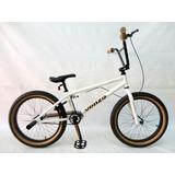 Bicicleta Freestyle Bmx Venzo Aro 20 Blanco ¡nuevas!