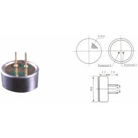 Microfone Eletreto 6x3 Pequeno Sem Terminal Kit Com 10 Peças