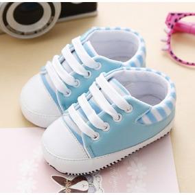 Tênis Bebê Azul Calçado Sapatinho Importado Roupa