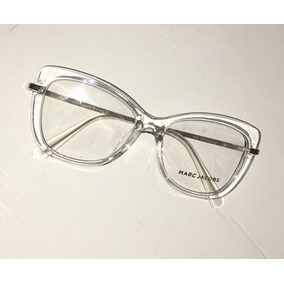 583391853ac3d Oculos De Grau Modelo Gatinho Quadrado Marc Jacobs - Óculos no ...