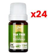 Óleo Essencial Melaleuca Tea Tree 24 X 10ml Atacado - Vedis