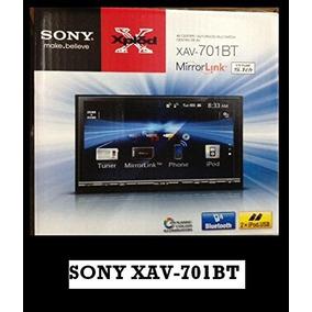 New Sony Xav-701 Bt 7 Touch Screen Bluethooth Av Receiver