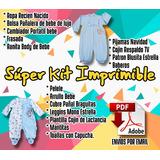 Kit Imprimible Ropa Para Bebé