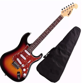 Guitarra Mod Fender Tagima Memphis Mg32 Cor Sunburst + Capa