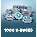 Fortnite 1000 Pavos V-bucks Pc, Xbox, Android, Iphone, Mac