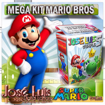 Super Mario Bros Invitaciones Kit Imprimible Y Mas Jose Luis