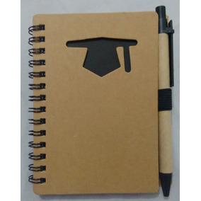 Kit 30 Caderno De Anotação Formatura Abc Capelo Com Caneta