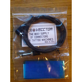 Cable Rca Vecctor Import. P/ Maquinas De Tatoo Clip / Tatoo