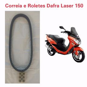 Correia Trasmissão Dafra Laser 150 2008 A 2010 + Roletes