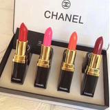 Labiales Chanel Set De 4 Exelente Calidad Envio Gratis