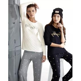 Pijamas Mujer Invierno Playboy Pink Envio Gratis 20 Modelos
