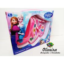 Estojo De Maquiagem Infantil Frozen (maquiagem Para Criança)