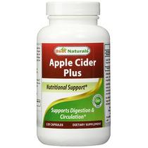 Best Naturals Apple Cider Plus 500 Mg 120 Cápsulas (f)