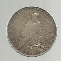 Usa 1 Dolar 1922 D Peace Plata