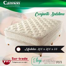 Sommier Colchon Cannon Sublime Pillow 200 200 Cm King Size