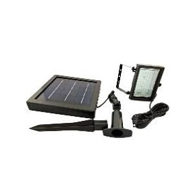 Lampara Solar 60 Leds Exteriores Y Jardin 3w Mini Reflector