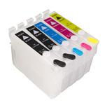 Kit Cart Recargable Para Epson T1110 +5 Tintas 500 Ml