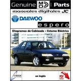 Manual Diagramas Sistema Electrico Daewoo Espero Original