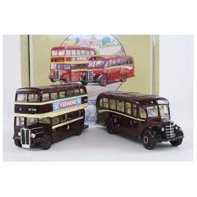 Corgi Buses Ingles Set X2 Corgi 97061 1/50 & 1/64