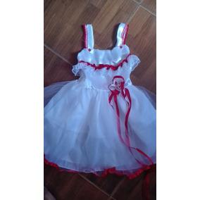 Vestido De Bautizo O Fiesta Para Niñas Talla 4 Ref.005