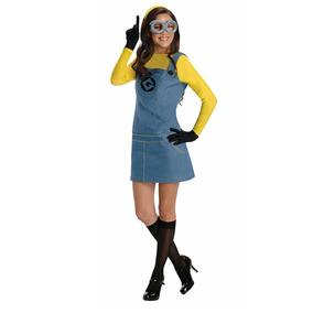 Disfraz Mujer Mi Villano Favorito Despicable Me Minion L