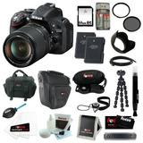 Nikon D5200 Cámara Cmos Dslr De 24.1 Mp Con Formato Dx, Mm